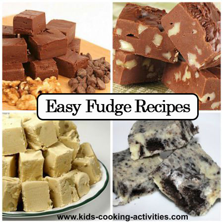 12 easy fudge recipes