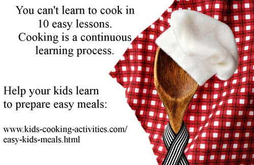 get kids cooking