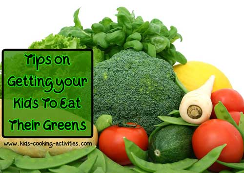 tips on eating more greens