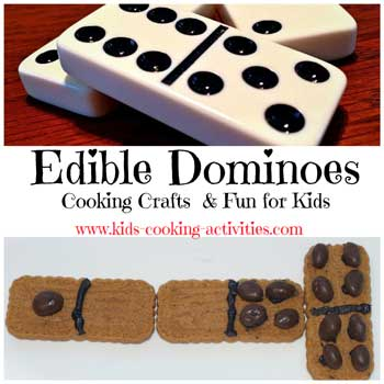 edible dominoes cookies