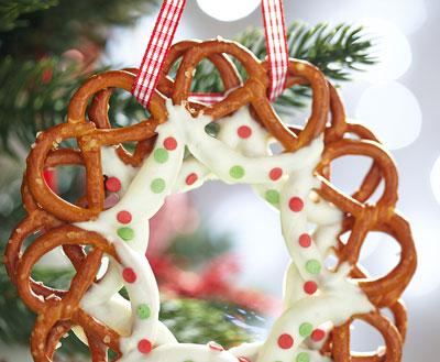 edible wreath