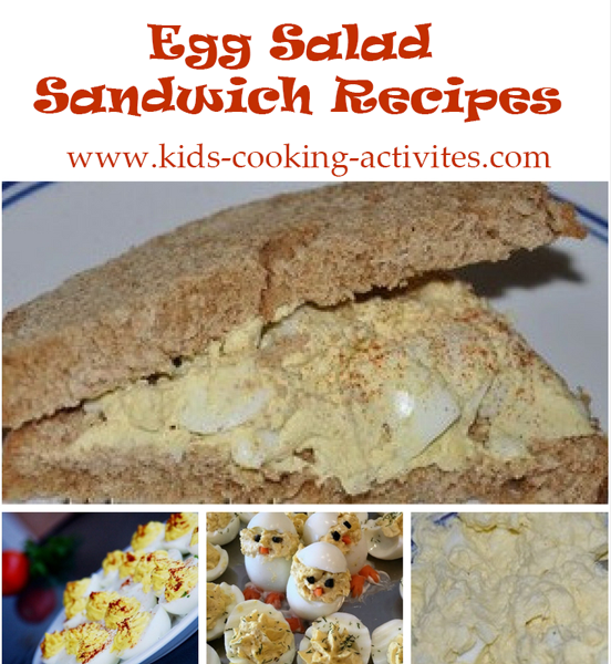egg salad sandwich recipes