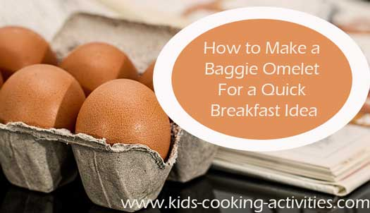 baggie omelet recipe