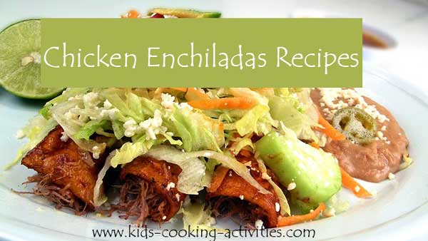 enchiladas recipes