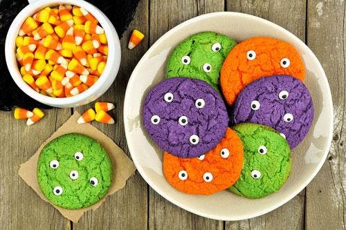 eye ball cookies