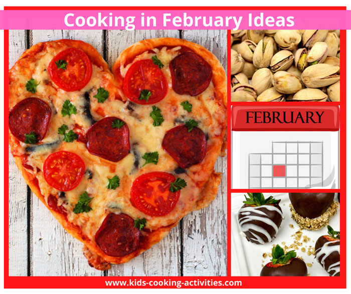 february cooking activities