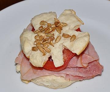 flower sandwich