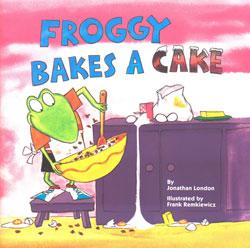 froggy bakes cake