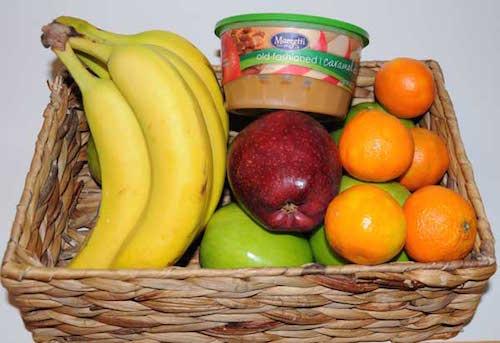 fruit gift basket idea