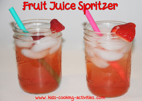 fruit juice drink