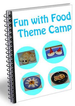 fun with food theme camp