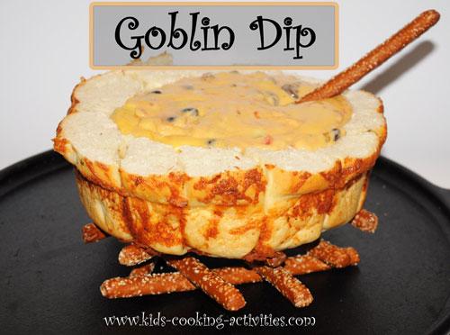 goblin cheese dip fondue