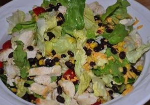 chicken lime salad