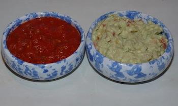 guac and salsa