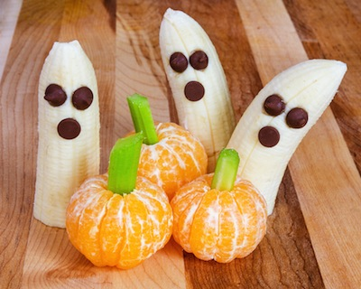 halloween fruit snacks - Halloween Kid Foods To Make