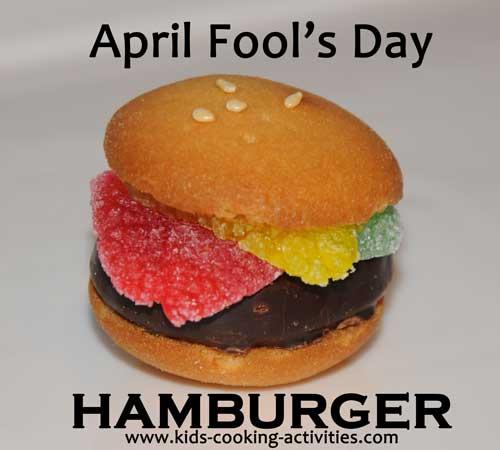 hamburger for april fools
