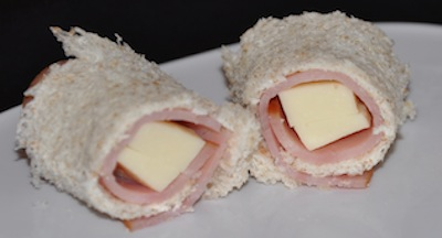ham cheese roll up