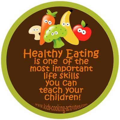 teach your kids healthy eat