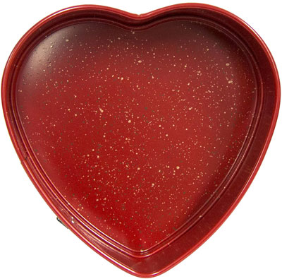 heart spring form pan