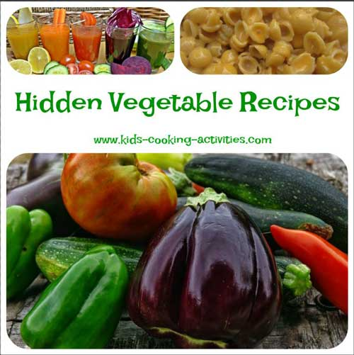 hidden vegetable recipes