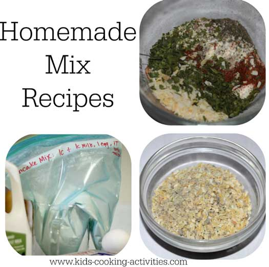 homemade mix recipes