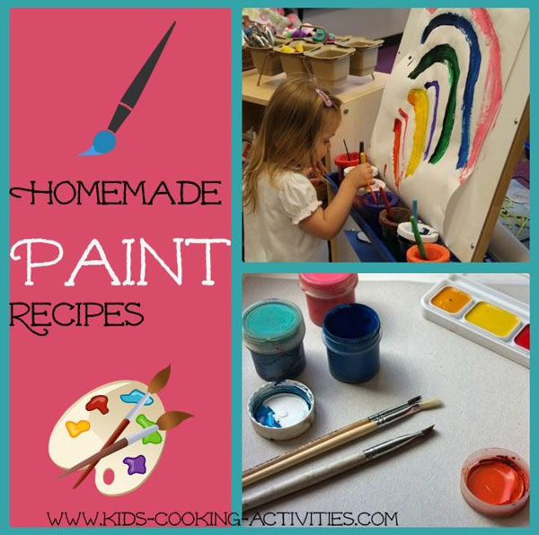 homemade painting recipes