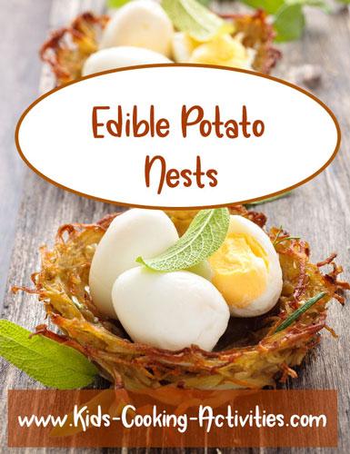 potato nests