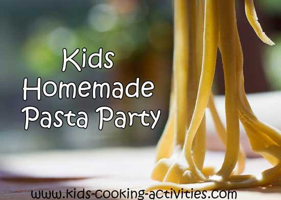 homemade pasta