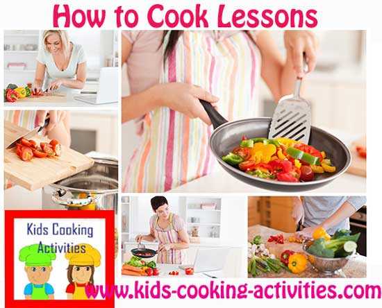 how to cook lessons