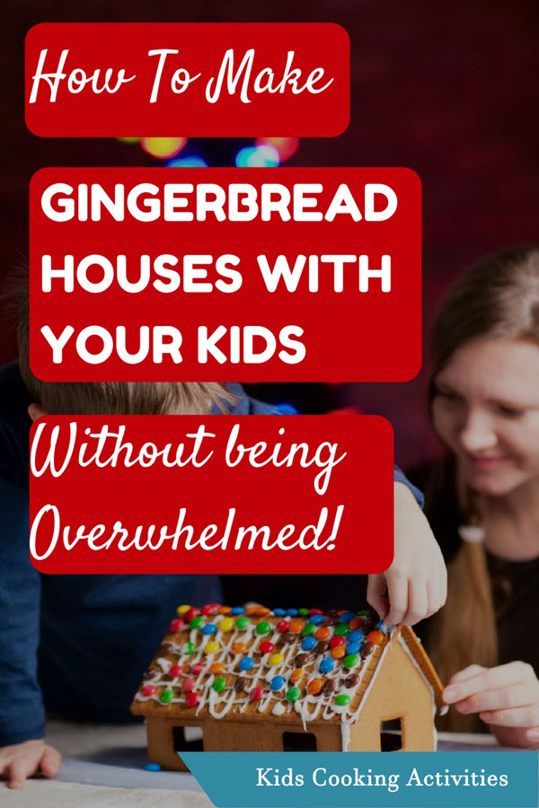 gingerbread houses with kids