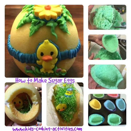 making sugar eggs tutorial