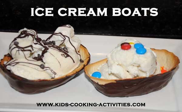 ice cream boats