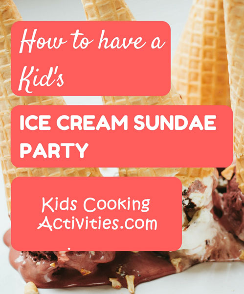 Supreme Sundae Kids Cooking Party