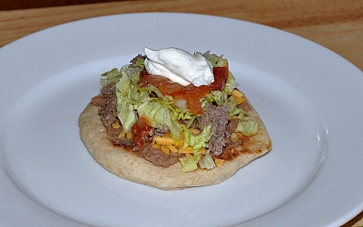 how to make taco bread
