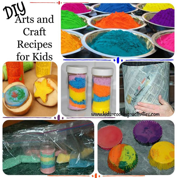 kids craft arts recipes