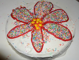 kids decorated cake