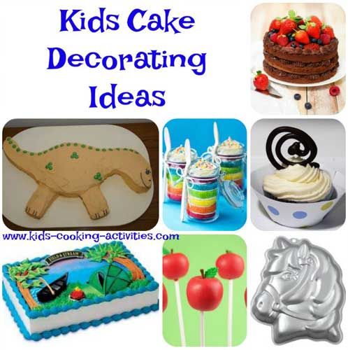 Cake Decoration For Kid : Cake Decorating Ideas for Kids