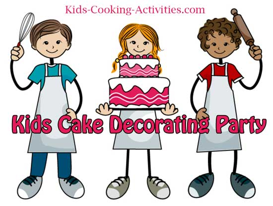 kid baking party