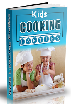 kids cooking parties ebook