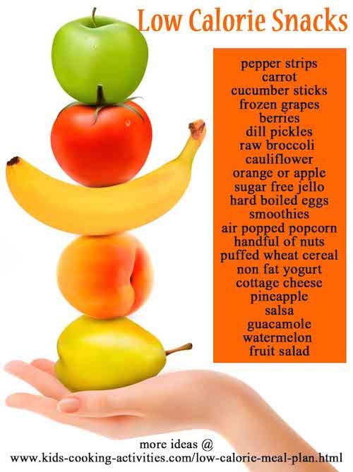 low calorie snack ideas