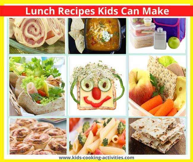 Lunch Recipes Kids Can Make
