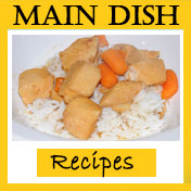 main dish button