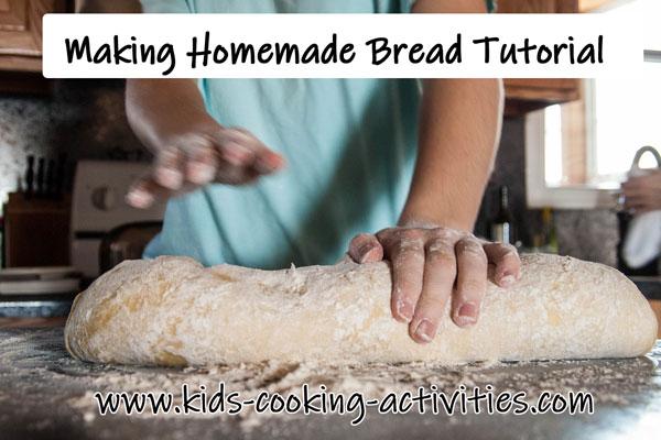 making homemade tutorial