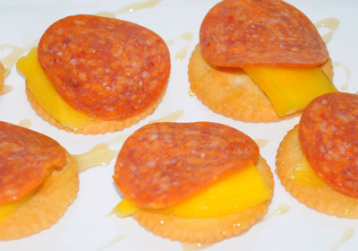 mango crackers