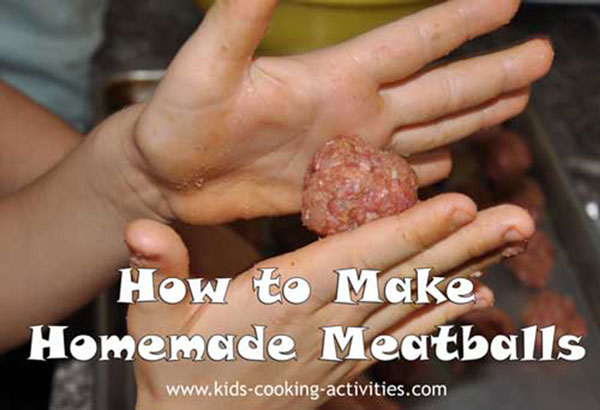 meatball making