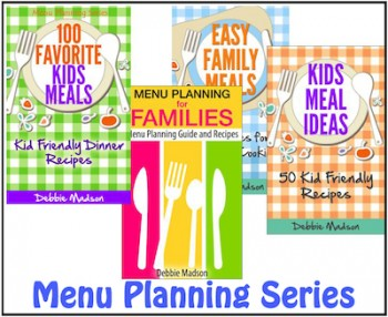 menu planning cookbooks