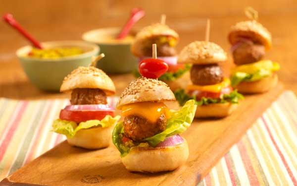 meatball hamburgers
