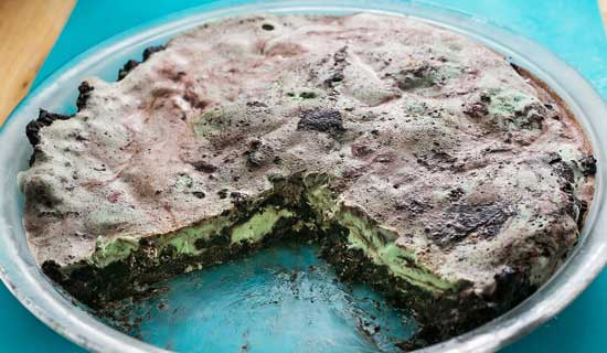 mint ice cream pie