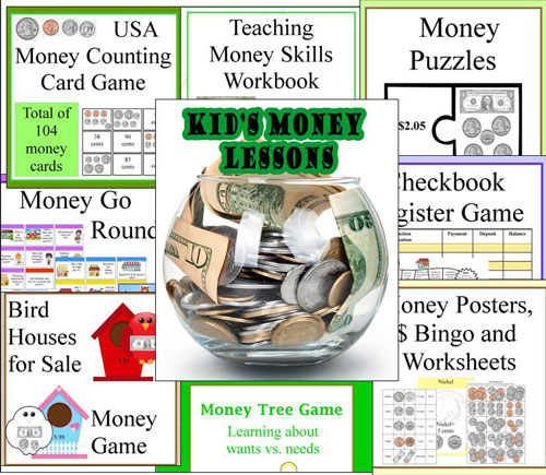 money lessons and games