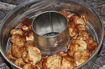 monkey in pan